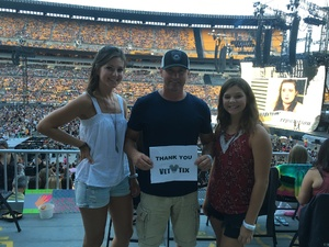 TODD attended Taylor Swift Reputation Stadium Tour on Aug 7th 2018 via VetTix