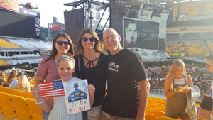 Mark attended Taylor Swift Reputation Stadium Tour on Aug 7th 2018 via VetTix