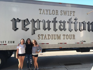 Charles attended Taylor Swift Reputation Stadium Tour on Aug 7th 2018 via VetTix
