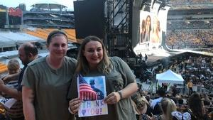 Krisztina attended Taylor Swift Reputation Stadium Tour on Aug 7th 2018 via VetTix