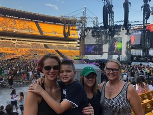 Michele attended Taylor Swift Reputation Stadium Tour on Aug 7th 2018 via VetTix