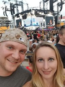 Brent attended Taylor Swift Reputation Stadium Tour on Aug 7th 2018 via VetTix