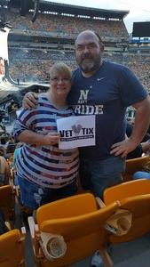 John attended Taylor Swift Reputation Stadium Tour on Aug 7th 2018 via VetTix