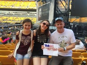 Chris attended Taylor Swift Reputation Stadium Tour on Aug 7th 2018 via VetTix