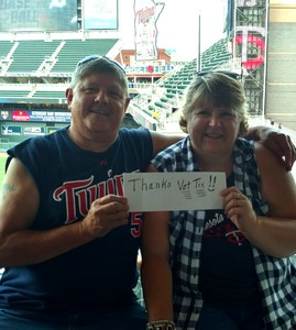 Randy Wolfe attended Minnesota Twins vs. Detroit Tigers - MLB on Aug 16th 2018 via VetTix