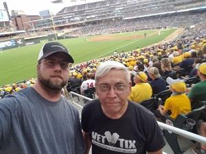 wayne attended Minnesota Twins vs. Detroit Tigers - MLB on Aug 16th 2018 via VetTix