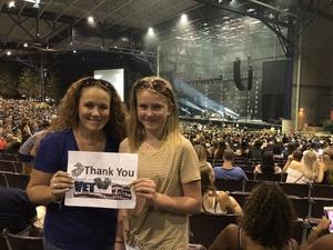 Dixie Spittal attended Niall Horan: Flicker World Tour 2018 on Aug 31st 2018 via VetTix