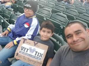 Repreza family attended 311 and the Offspring: Never-ending Summer Tour on Jul 29th 2018 via VetTix
