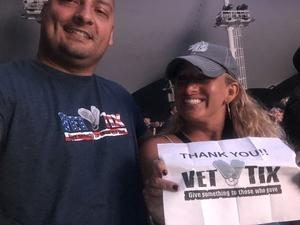 Kwan attended Dierks Bentley Mountain High Tour 2018 on Aug 4th 2018 via VetTix