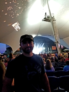 Damien attended Dierks Bentley Mountain High Tour 2018 on Aug 4th 2018 via VetTix