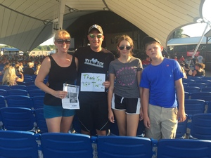 jeremy attended Dierks Bentley Mountain High Tour 2018 on Aug 4th 2018 via VetTix