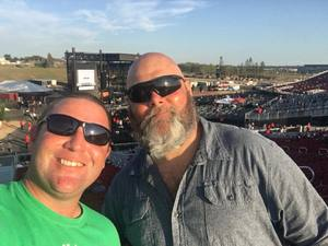 Allen attended Jukebox Heroes Foreigner with Whitesnake, Jason Bonham's Led Zeppelin - Reserved Seats on Aug 1st 2018 via VetTix