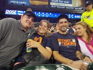 David attended Detroit Tigers vs. Chicago White Sox - MLB on Aug 14th 2018 via VetTix
