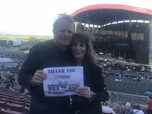 Raymond attended Laid Back Festival a Celebration of Music & Food Chicago & Reo Speedwagon - Reserved Seats on Aug 3rd 2018 via VetTix