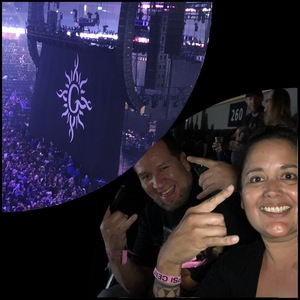 sonia attended Godsmack / Shinedown with special guests Like A Storm on Jul 31st 2018 via VetTix