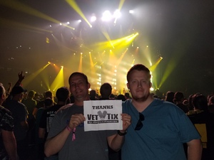 DeWayne attended Godsmack / Shinedown with special guests Like A Storm on Jul 31st 2018 via VetTix