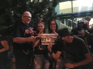 Donald attended Godsmack / Shinedown with special guests Like A Storm on Jul 31st 2018 via VetTix