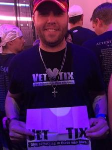 Austin attended Godsmack / Shinedown with special guests Like A Storm on Jul 31st 2018 via VetTix