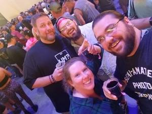 Daryl attended Godsmack / Shinedown with special guests Like A Storm on Jul 31st 2018 via VetTix