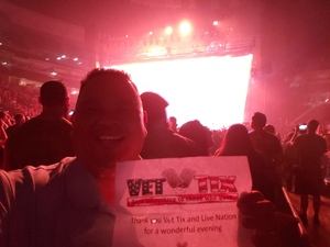 James attended Godsmack / Shinedown with special guests Like A Storm on Jul 31st 2018 via VetTix