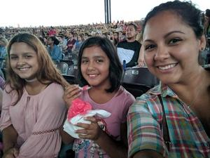 Rosa attended Pentatonix With Special Guests Echosmith and Calum Scott - Pop on Aug 12th 2018 via VetTix