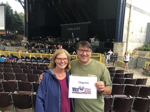 Peter attended Pentatonix With Special Guests Echosmith and Calum Scott - Pop on Aug 12th 2018 via VetTix