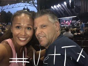 Chin attended Pentatonix With Special Guests Echosmith and Calum Scott - Pop on Aug 12th 2018 via VetTix
