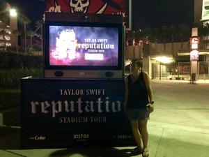 Jennifer attended Taylor Swift Reputation Stadium Tour on Aug 14th 2018 via VetTix