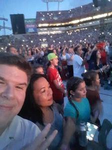 Christopher attended Taylor Swift Reputation Stadium Tour on Aug 14th 2018 via VetTix