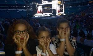 Kevin attended Taylor Swift Reputation Stadium Tour on Aug 14th 2018 via VetTix