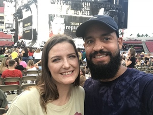 Juice attended Taylor Swift Reputation Stadium Tour on Aug 14th 2018 via VetTix