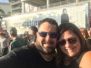 David attended Taylor Swift Reputation Stadium Tour on Aug 14th 2018 via VetTix