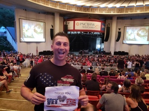 Justin attended The Smashing Pumpkins: 30th Anniversary Series - Alternative Rock on Aug 2nd 2018 via VetTix
