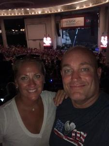 Mike attended Brad Paisley Tour 2018 - Country on Aug 30th 2018 via VetTix