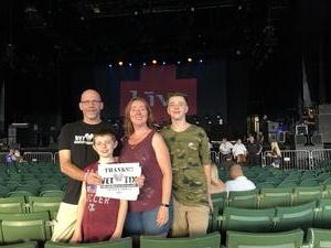 Matthew attended Counting Crows with Special Guest +LIVE+: 25 Years and Counting on Aug 17th 2018 via VetTix