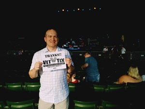 Robert attended Counting Crows with Special Guest +LIVE+: 25 Years and Counting on Aug 17th 2018 via VetTix
