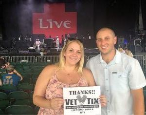 Todd attended Counting Crows with Special Guest +LIVE+: 25 Years and Counting on Aug 17th 2018 via VetTix