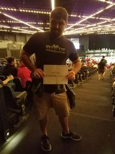 Dominick attended 2018 Dodgeball World Cup - Hulu Theater at Madison Square Garden on Aug 4th 2018 via VetTix