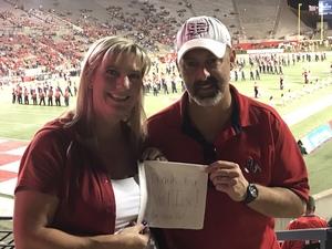 Josh attended Fresno State Bulldogs vs. Wyoming - NCAA Football on Oct 13th 2018 via VetTix