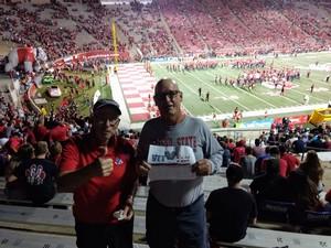 alan attended Fresno State Bulldogs vs. Wyoming - NCAA Football on Oct 13th 2018 via VetTix