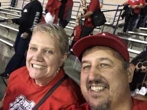 Thomas attended Fresno State Bulldogs vs. Wyoming - NCAA Football on Oct 13th 2018 via VetTix