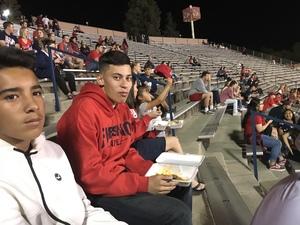 marcus attended Fresno State Bulldogs vs. Wyoming - NCAA Football on Oct 13th 2018 via VetTix