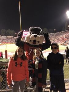 Robert attended Fresno State Bulldogs vs. Wyoming - NCAA Football on Oct 13th 2018 via VetTix
