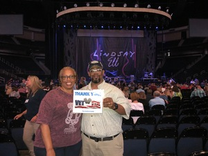 Harrison attended Sugarland Still the Same 2018 Tour on Aug 3rd 2018 via VetTix