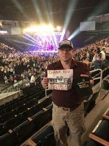Stuart attended Sugarland Still the Same 2018 Tour on Aug 3rd 2018 via VetTix