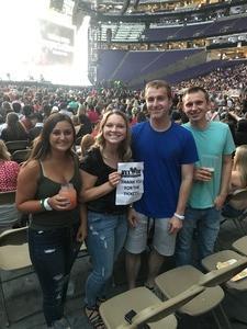 Samantha attended Taylor Swift Reputation Stadium Tour - Pop on Aug 31st 2018 via VetTix