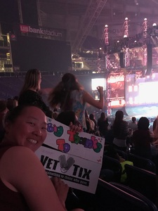 Mary attended Taylor Swift Reputation Stadium Tour - Pop on Aug 31st 2018 via VetTix