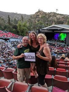 Jim attended Lsd Tour: Lucinda Williams/steve Earle/dwight Yoakam Pres. By SiriusXM - Pop on Aug 2nd 2018 via VetTix