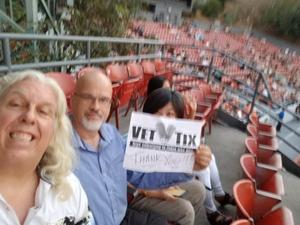 Jeff attended Lsd Tour: Lucinda Williams/steve Earle/dwight Yoakam Pres. By SiriusXM - Pop on Aug 2nd 2018 via VetTix