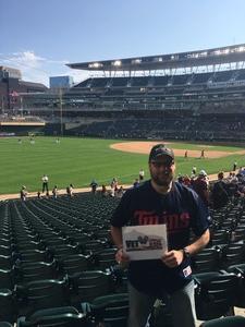 Jason attended Minnesota Twins vs. Oakland Athletics - MLB on Aug 26th 2018 via VetTix